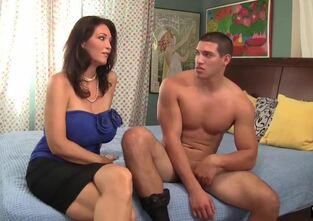 Mom son first fuck